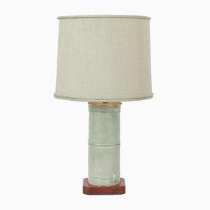 Lampe de Bureau en Faux Bambou, États-Unis, années 70