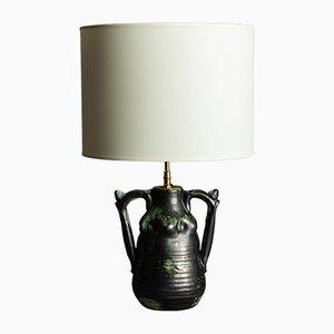 Lámpara de mesa francesa de Alexandre Kostanda para Louis Giraud, años 40