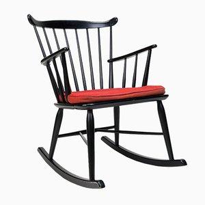 Rocking-chair Modèle WG10 par Børge Mogensen pour FDB, années 60