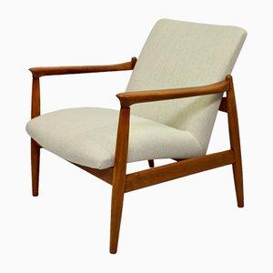 Vintage Sessel in Beige, 1960er
