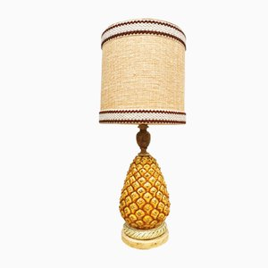 Vintage Eclectic Pineapple Table Lamp, 1950s