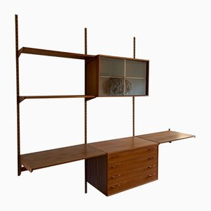 Mid-Century Danish Modular Wall Units by Kai Kristiansen for Feldballes Møbelfabrik