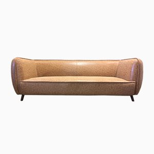 Vintage Brown Sofa, 1970s