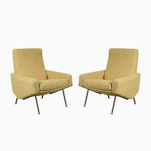 Französische Modell Troika Sessel von Pierre Guariche für Airborne, 1960er, 2er Set