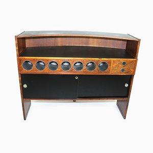 Mueble bar de palisandro de Erik Buch para Dyrlund, años 60