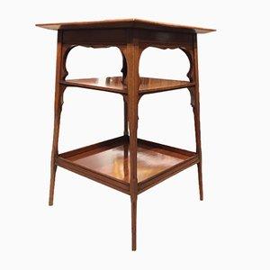 Table d'Appoint Ancienne en Acajou