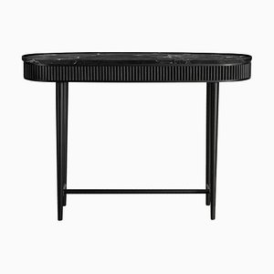 Jet Black Mausam Console Table by Kam Ce Kam