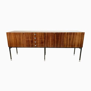 Large French Rosewood Model 800 Sideboard by Alain Richard for Meubles TV, 1958
