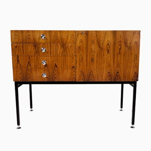 French Rosewood Model 800 Sideboard by Alain Richard for Meubles TV, 1960s