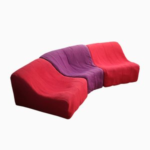 French Sofa by Kwok Hoi Chan for Steiner, 1970s
