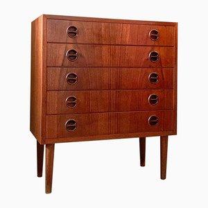 Danish Teak Dresser from G.V Gasvig, 1960s
