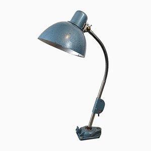 Vintage Industrial German Table Lamp from Zweckleuchtenbau, 1950s