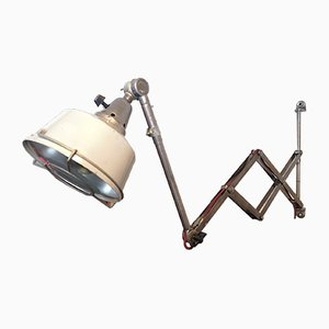 Bauhaus German Sconce by Curt Fischer for Midgard / Industriewerke Auma, 1950s