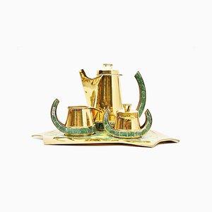 Juego de té mexicano de Salvador Teran, años 50