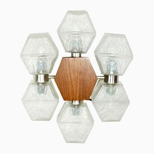 Mid-Century Teak Model 732 Sconce by Müller-Temde Fritz for Temde, 1960s