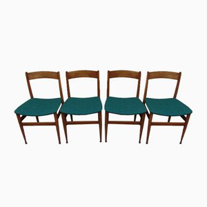 Mid-Century Italian Dining Chairs from Passoni, Set of 4