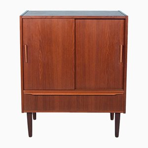 Mid-Century Danish Teak and Rosewood Cupboard, 1960s