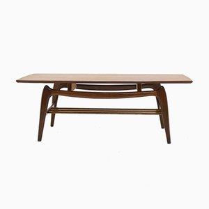 Table Basse Sculpturale en Teck par Louis van Teeffelen pour WéBé, années 50