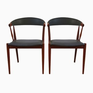 Teak Model BA113 Dining Chairs by Johannes Andersen for Udlum Mobelfabrik, 1960s, Set of 2
