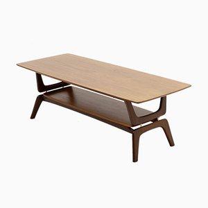 Table Basse Sculpturale en Teck par Louis van Teeffelen pour WéBé, années 60