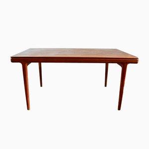 Scandinavian Teak Dining Table by Johannes Andersen, 1960s