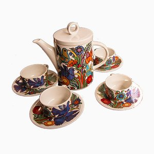 Tea Set by Christine Reuter for Villeroy & Boch, 1967