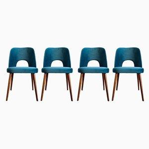 Chaises de Salle à Manger par Oswald Haerdtl pour Tatra, années 60, Set de 4