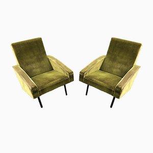 Französische Vintage Sessel von ARP, 1950er, 2er Set