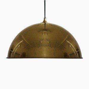 Vintage Brass Model Posa Ceiling Lamp by Florian Schulz for Florian Schulz, 1970s