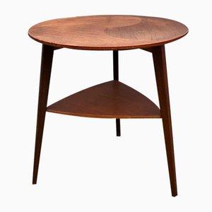 Table d'Appoint en Teck de Møbel Intarsia, Danemark, années 60