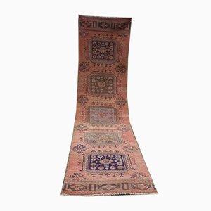 Tappeto da corridoio Oushak vintage, anni '70