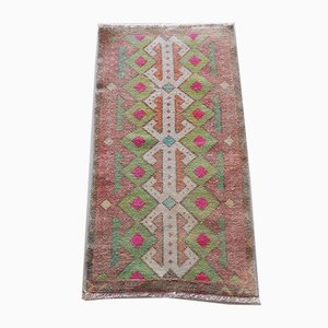 Small Vintage Turkish Oushak Rug from Vintage Pillow Store Contemporary, 1970s