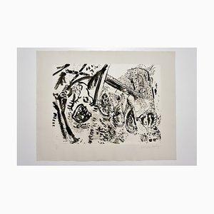 Impression Untitled par Malcolm Morley, années 80