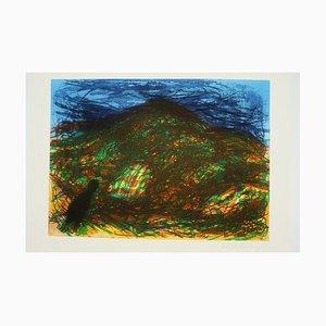 Devon Landscape Druck von Malcolm Morley, 1980er