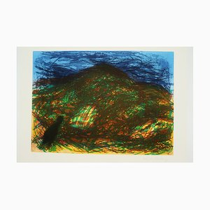 Impression Paysage Devon par Malcolm Morley, années 80