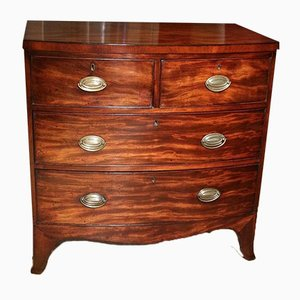 Antique Bow-Fronted Dresser