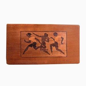 Caja de palisandro, años 20