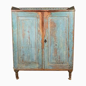 Antique Painted Swedish Gustavian Buffet
