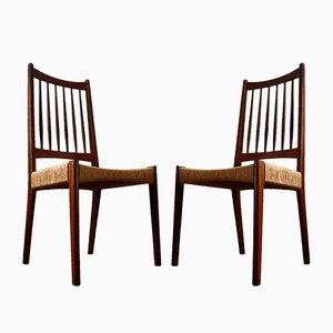 Mid-Century Danish Dining Chairs from Mogens Kold, Set of 2