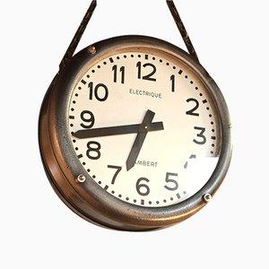 Mid-Century Uhr von Lambert
