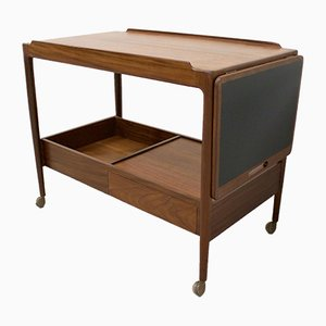 Mid-Century Teak Serving Cart by Ib Kofod Larsen for G-Plan