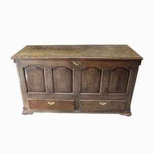 Antique Oak Mule Chest