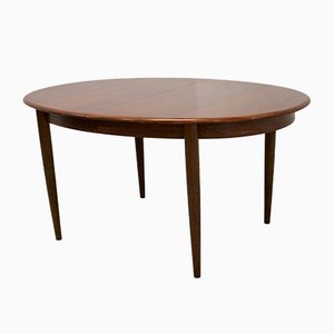 Rosewood Extendable Dining Table from Gudme Mobelfabrik, 1960s
