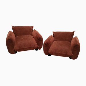 Armchairs by Marenco Mario for Arflex, 1970s, Set of 2
