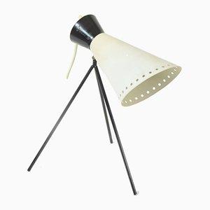 Dreibeinige tschechoslowakische Tischlampe von Josef Hurka für Napako, 1960er
