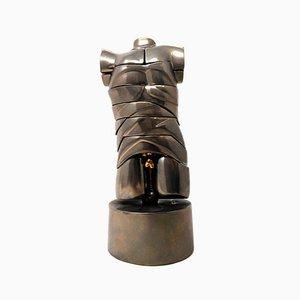 David Miniaturskulptur aus Stahl von Miguel Berrocal, 1969