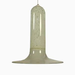 Lampe à Suspension en Verre de Murano par Alfredo Barbini pour Barbini, années 70