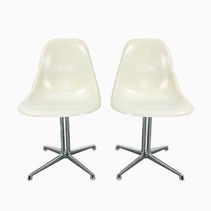 Sillas de comedor modelo La Fonda de Charles & Ray Eames para Herman Miller, años 60. Juego de 2
