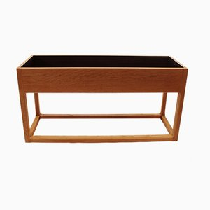 Danish Oak Flower Box, 1960s