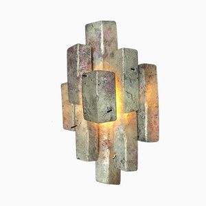 Brutalist Sconce from Auguste Fix, 1950s